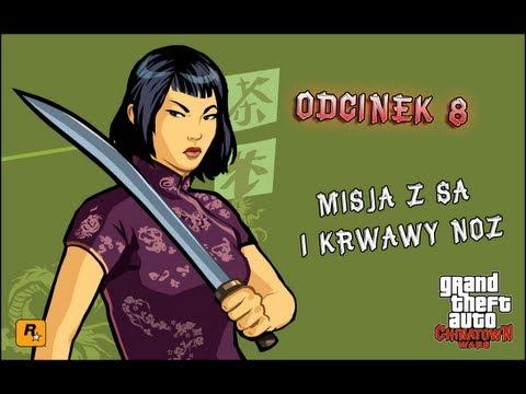 Let's Play Grand Theft Auto Chinatown Wars [PSP] (PL) #008 - Misja z SA i Krwawy nóż