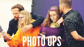 What Supernatural Convention Photo Ops Are Like!