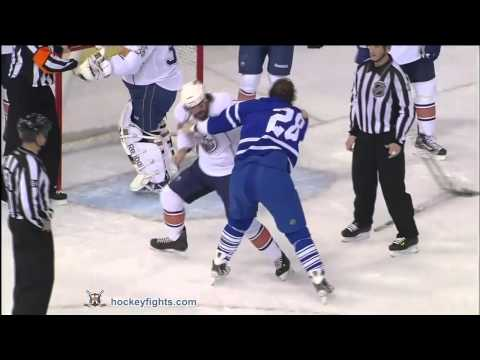 Zack Stortini vs. Colton Orr