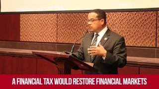 Keith Ellison Makes the Case for a Financial Transaction Tax