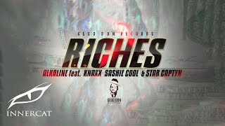 Alkaline (feat. Knaxx, Sashie Cool & Star Captyn) - Riches 💵(Cover Video) Prod. by Gegodon Records
