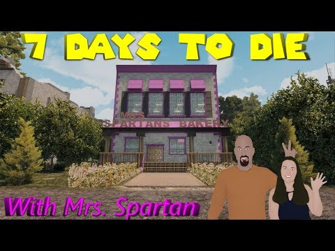 7 Days to Die - Mrs. Spartan Plays Alpha 17 - S1E9 - To Cam or Not to Cam? That is the Question.