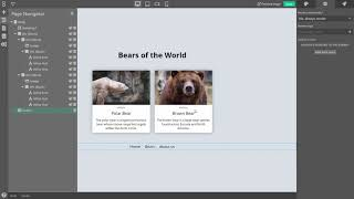 Create Pages and Reusable Components