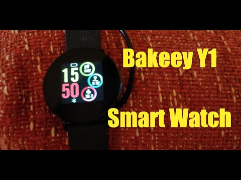 Bakeey Y1 Smart Watch - UNBOXING/REVIEW (by Banggood)