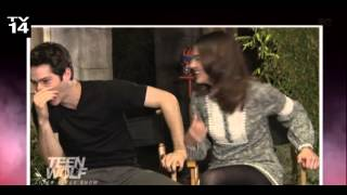 Dylan OBrien & Crystal Reed Funny Clip