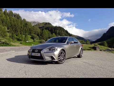 vid o lexus is 300h f sport 2013 test drive by l 39 argus. Black Bedroom Furniture Sets. Home Design Ideas