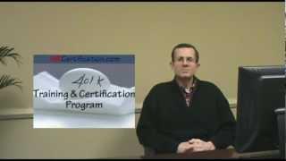 401k Training & Certification