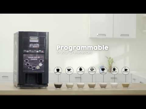 Atlantis Hot Beverage Recipe Machine