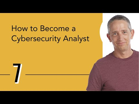 How to Become a Cybersecurity Analyst - YouTube