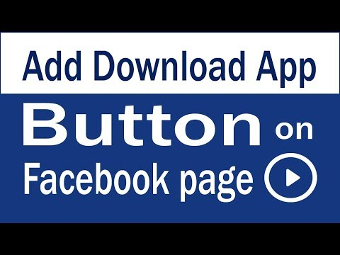 Add Download App button on Facebook page