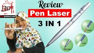 Review pen laser 3 in 1 - pulpen multifungsi