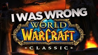 I was WRONG about CLASSIC! Here's Why