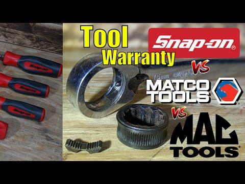 , title : 'Snap-on VS MAC VS Matco - Online Warranty - Shocking Results!