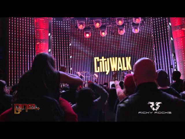 RICKY ROCKS & DJ NEL LIVE @ #CityWalkLA #5Towers (Hollywood, CA)