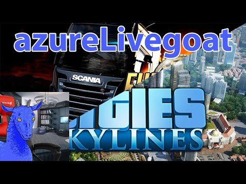 vidya game stream (cities skylines and euro truck simulator)
