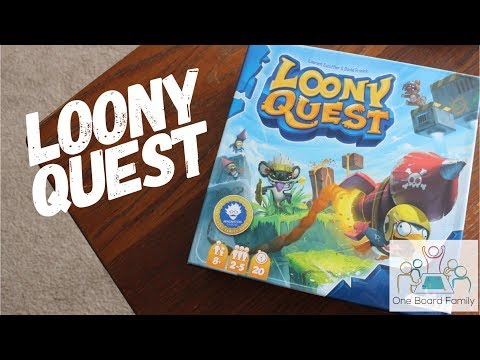 One Board Family Video Review: Loony Quest