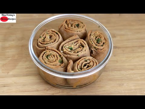 How To Make Whole Wheat Garlic Rolls Without Oven On A Tawa & In Oven – Atta Garlic Rolls Recipe