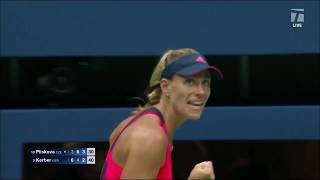 Tennis Channel Live: 2016 US Open Rewind: Kerber Becomes First German to Win in New York Since Graf