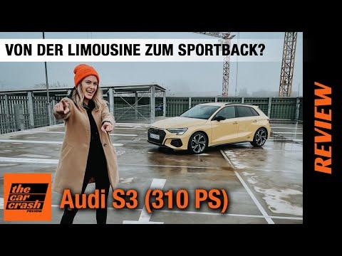 Audi S3 (310 PS) 💛 Von der Limousine zum Sportback? Fahrbericht | Review | Test | 2021 | edition one