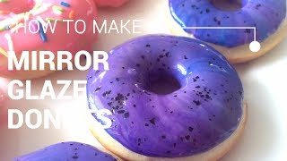 DIY Mirror Glaze Donut   How To Make GALAXY Donuts That Are Out Of This World!