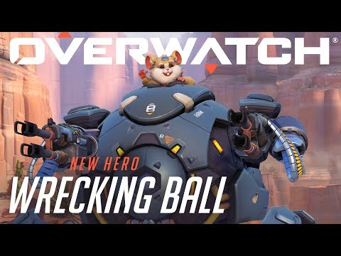 Wrecking Ball Rolls In as a Playable Hero