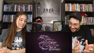 The Dark Crystal AGE OF RESISTANCE - Official Trailer Reaction / Review