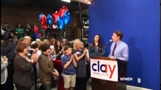 Clay Aiken speech after losing Congressional race November 4, 2014