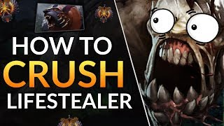 How to COUNTER LIFESTEALER - Pro Tips to Carry this Meta!   Dota 2 Guide