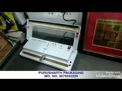 Manual Table Top Vacuum Packing Machine