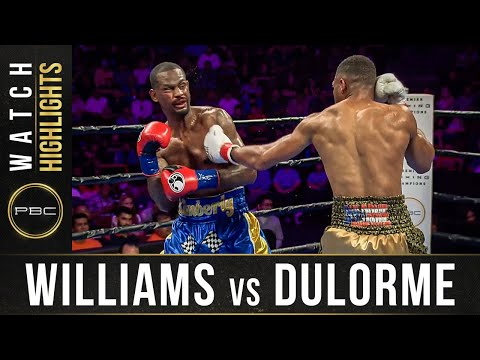 Williams vs Dulorme HIGHLIGHTS: September 21, 2019 — PBC on FS1