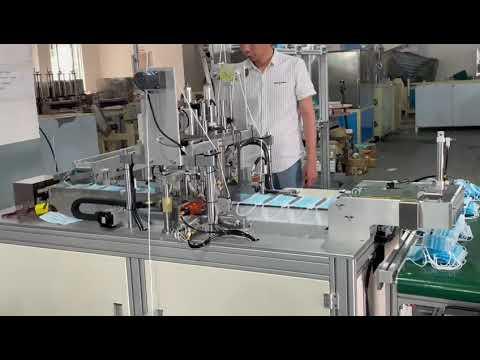 Semi Automatic Flat Face Mask Making Machine