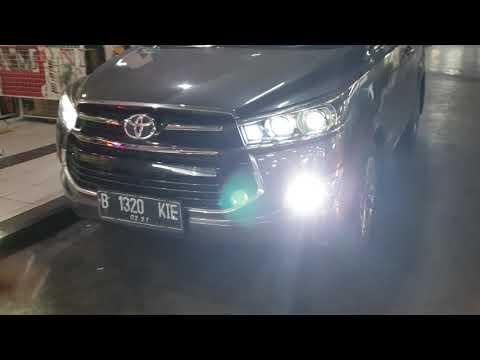 Toyota innova reborn fortuner avanza alphard vellfire solusi lampu mobil trang fokus nyorot no silau