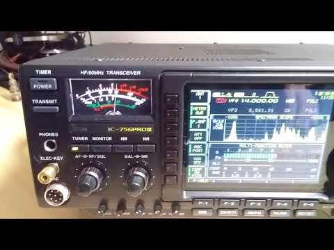 Icom IC-7300 vs  Airspy HF+ SDR on medium wave - смотреть