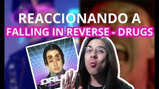 Reaccionando A Drugs | Falling In Reverse | Isa Valdes