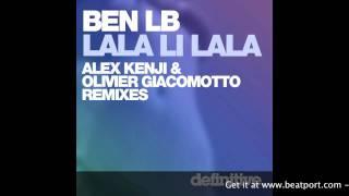 """Lala Li Lala (Olivier Giacomotto Dub Edit)"" - Ben LB - Definitive Recordings"