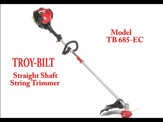 Troy-Bilt TB685 EC 4-Cycle Straight Shaft String Trimmer Review