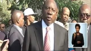 iphini likamengameli uCyril Ramaphosa  uhambele umndeni ka Sayitsheni Lesiba Sekele