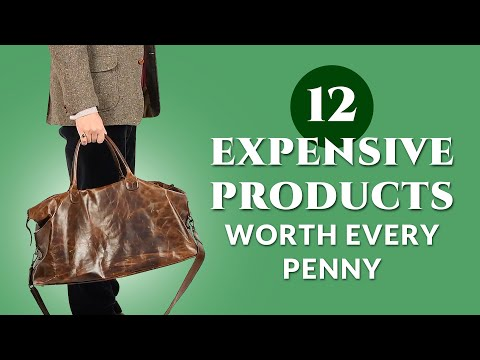 12 Expensive Men's Style Items Worth Every Penny