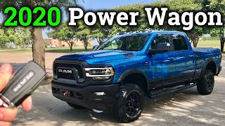 First RAM Review! 2020 Ram Power Wagon Detailed Review