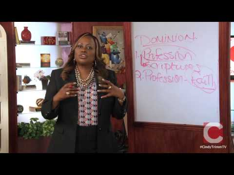 TextVideo Atomic Power of Prayer by Dr Cindy Trimm