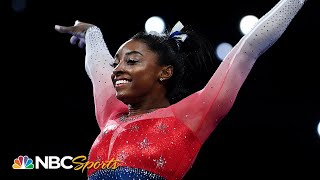 Simone Biles dominates for record-breaking 21st gold in Team USA's victory | NBC Sports
