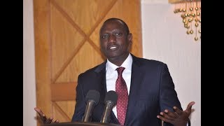 Ruto denies Sh21bn loss in dams project - VIDEO