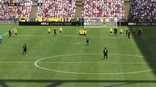 FIFA 15 Alberto Moreno free kick
