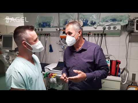 Video: V nemocnici AGEL Třinec-Podlesí dýchaly přístroje za pacienta s covid-19 přes 40 dní.