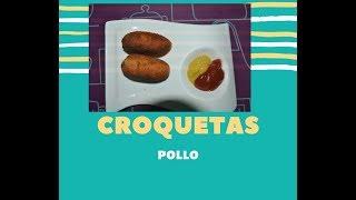 """Recetas """"Croquetas de Pollo"""" la mejor versión de mi"""