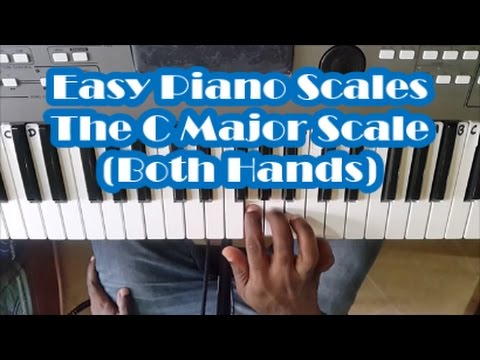 The First Piano Scale Every Beginner Should Learn - Easy Piano Scales Lesson For Beginners