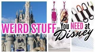 WHAT YOURE FORGETTING TO TAKE TO DISNEY! | Weird Disney Packing Essentials