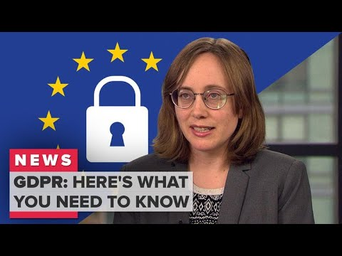The EU's new GDPR privacy law explained (CNET News)