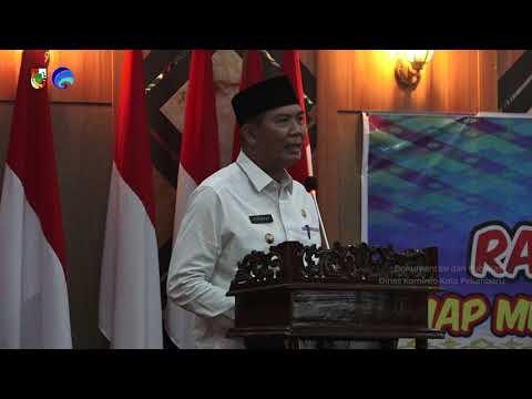 Pesan Wali Kota Kepada BKPRMI Kota Pekanbaru dan Remaja Masjid