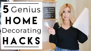 INTERIOR DESIGN | Clever Home Decorating Hacks I Learned So You Don't Have To